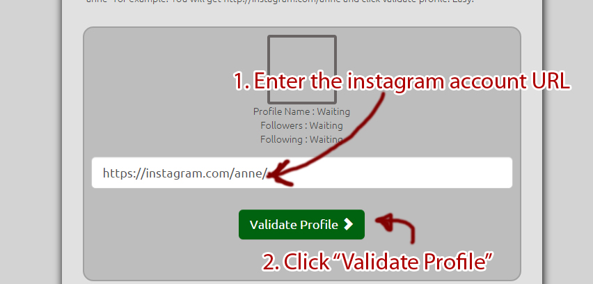 download instagram pictures from private profile